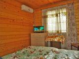 2-х местный домик из бруса с удобствами - фото
