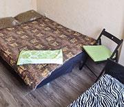 1-х комнатная квартира на 3 (4) человек