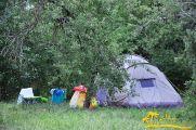 Автокемпинг (цена за машинное место + палатка)