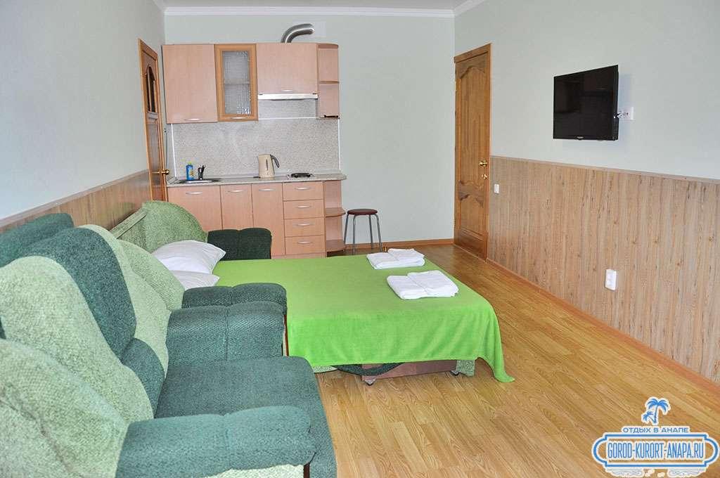2-х комнатный 5-ти местный номер с мини-кухней и балконом
