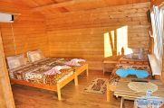 3-х местный номер в деревянном коттедже - главное фото