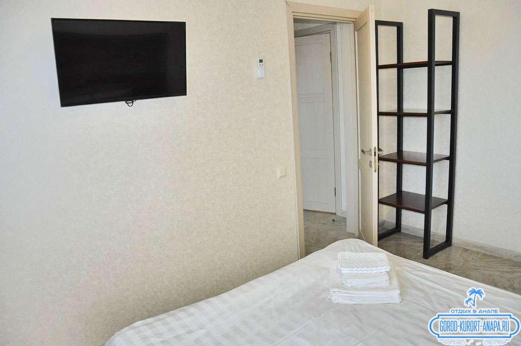 """2-х комнатный 4-х местный номер """"Апартаменты"""""""