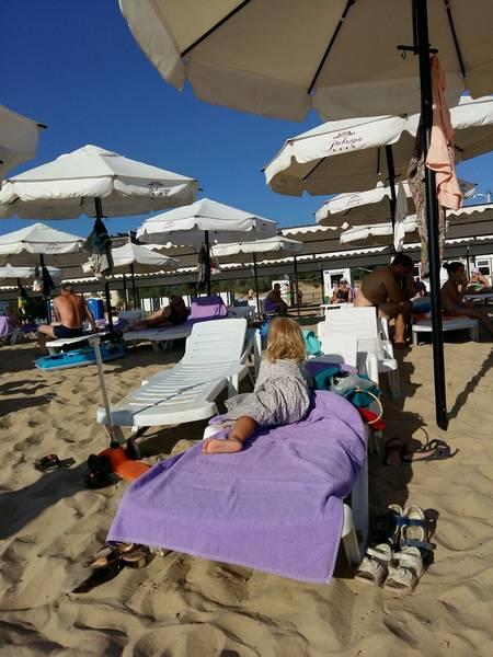 Фото с частного пляжа