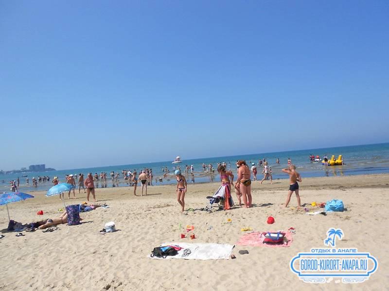 Наш  прекрасный и малолюдный пляж