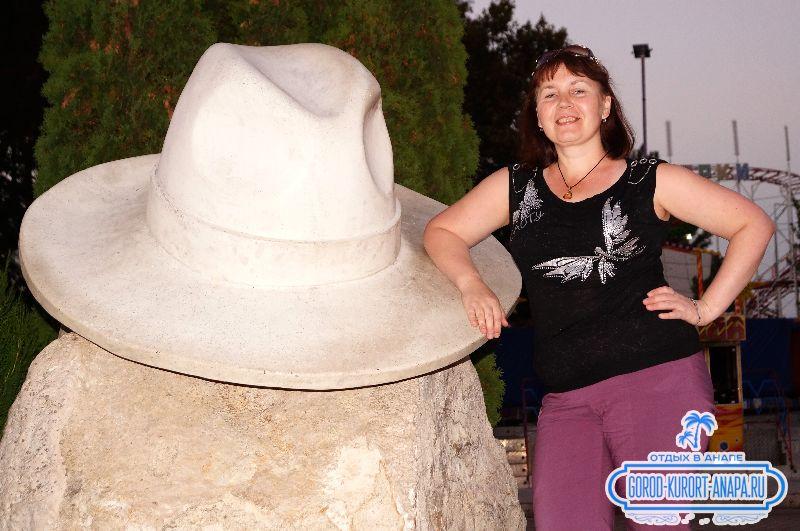 белая шляпа Анапа