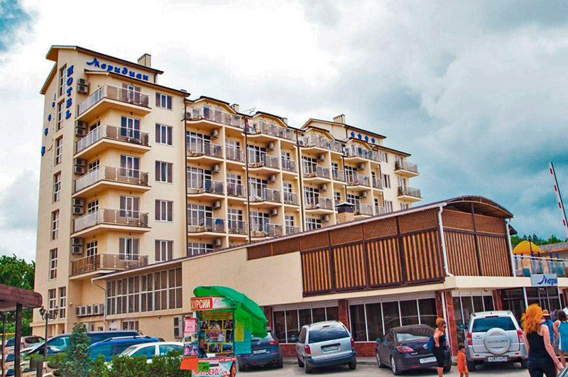 отель меридиан Витязево