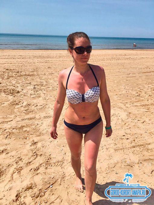 Песчаный пляж Витязево