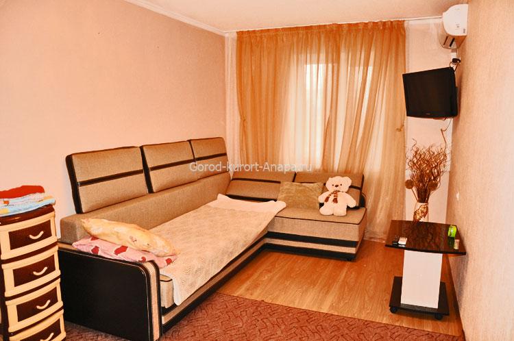 1-комнатная 43 м2 на ул.Новороссийская 232