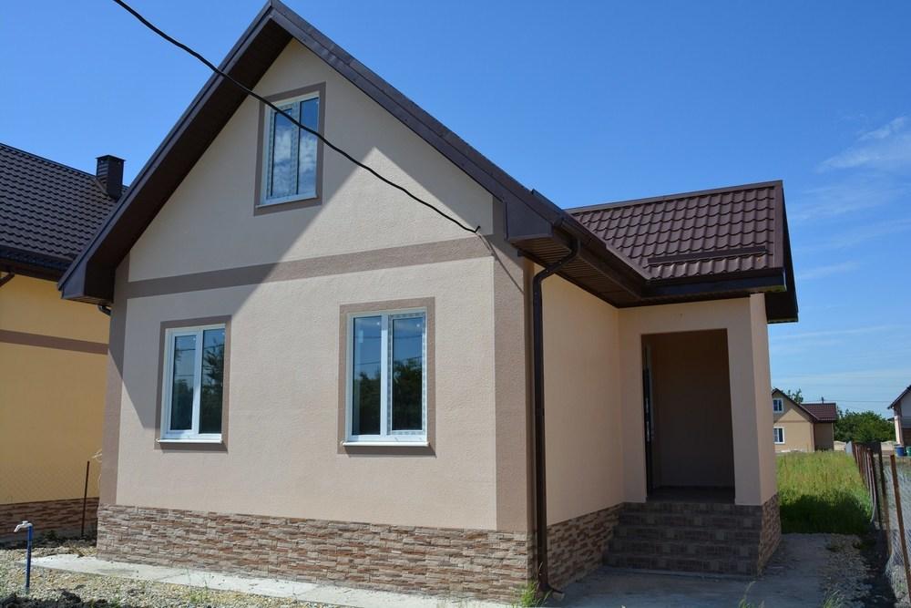 Дом 65 кв.м на участке 5 сот