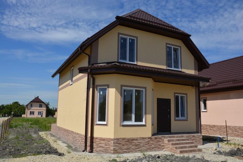 Дом 130 кв.м на участке 5 сот