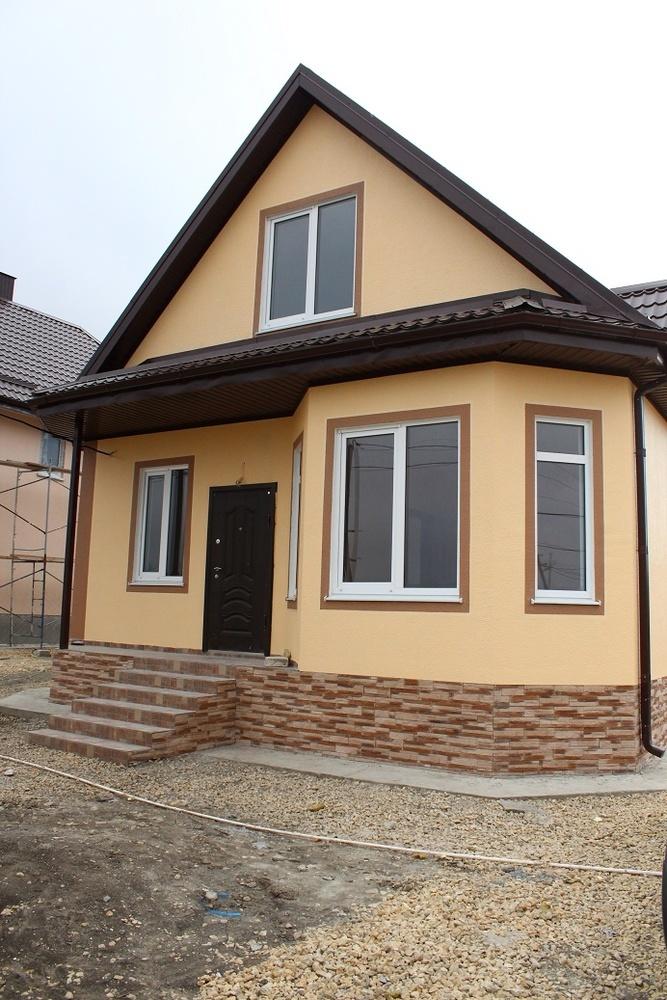 Дом 110 кв.м на участке 8 сот