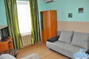 2-х комнатный семейный 4-х местный (комнаты смежные) «Студио» апартаменты с кухней
