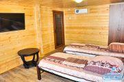 """2-х комнатный 4-6-ти местный деревянный дом """"Под ключ"""""""