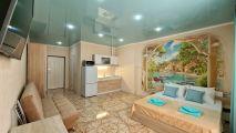 Однокомнатные квартиры студия Апарт-отель «ЖК Кавказ» - подробное описание