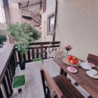 2-х комнатный 5-ти местный номер «Семейный люкс» терраса с видом на бассейн с (мини-кухней)