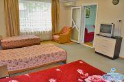 2-х комнатный номер с кухней на 4 чел. (цена за номер)