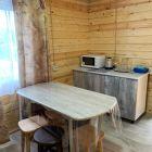 Двухэтажный домик в саду (рассчитан на 4-5 человек)