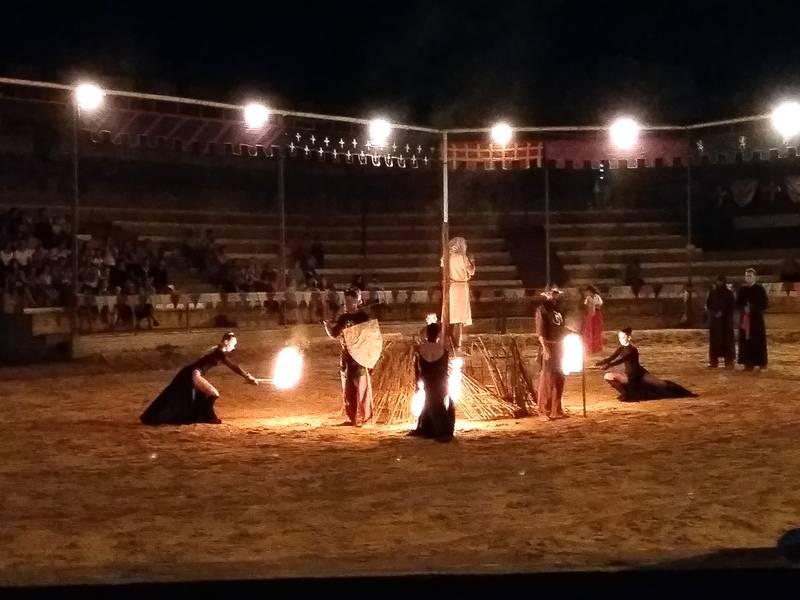 Фото рыцарского турнира в Сукко