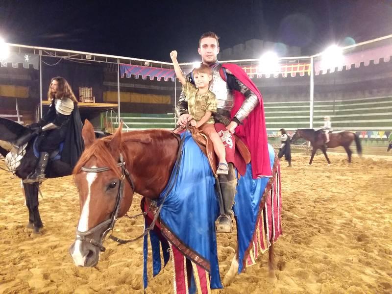 Фото с королем Артуром