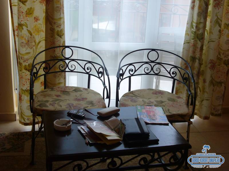 Отель «Ривьера» Анапа наш номер