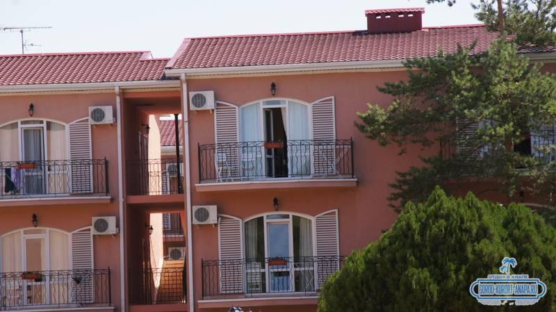 Отель «Ривьера» Анапа наш корпус