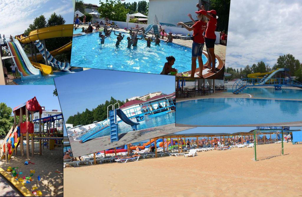 пансионат Бригантина Витязево - бассейн, анимация, пляж, аквапарк собственный