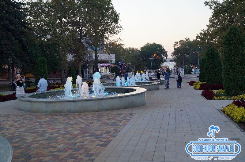 фонтаны Анапы