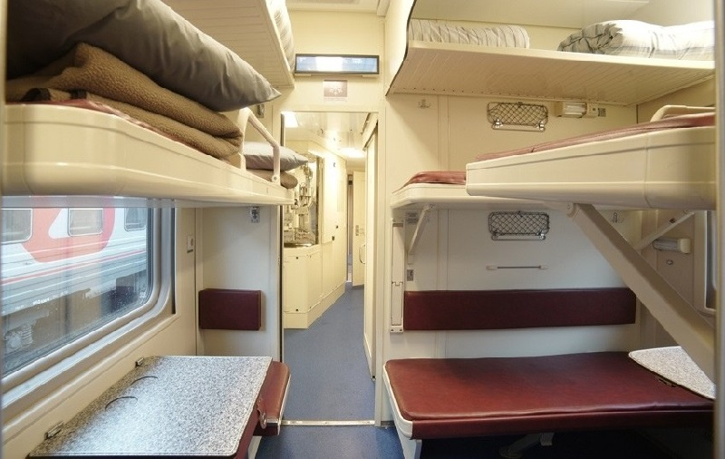 Наш поезд в Анапу